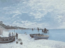 1_MONET-Claude-1867-The-Beach-at-Sainte-Adresse