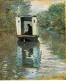 1_MONET-Claude-1876-Le-bateau-atelier