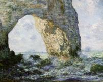 1_MONET-Claude-1883-Rock-Arch-West-of-Etretat